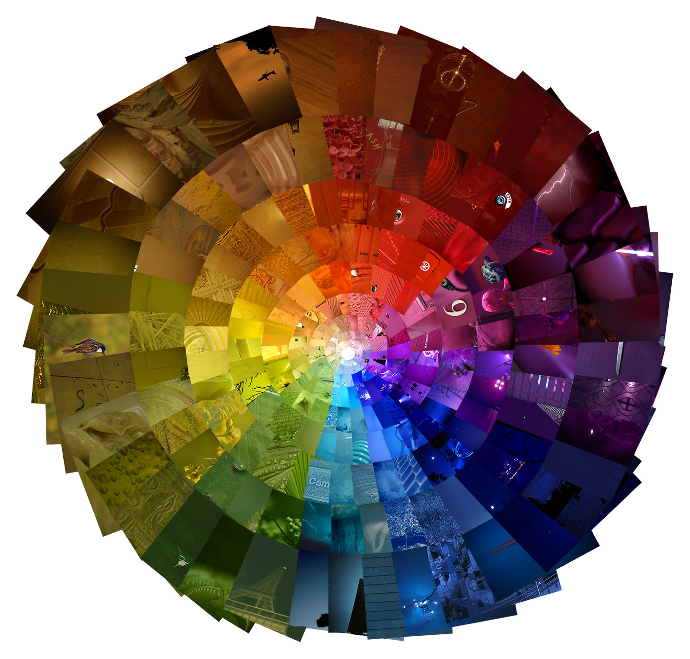 Photography color wheel