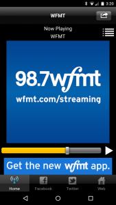 (Previous) WFMT App